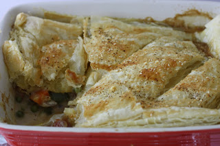 Its savory time of the month – Vegetable Pot Pie