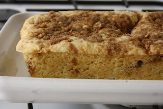 SourCream Cake with Walnut Streusel – perfect pair with a coffee