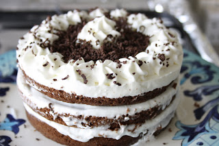 Go crazy with this Black Forest Gateau!