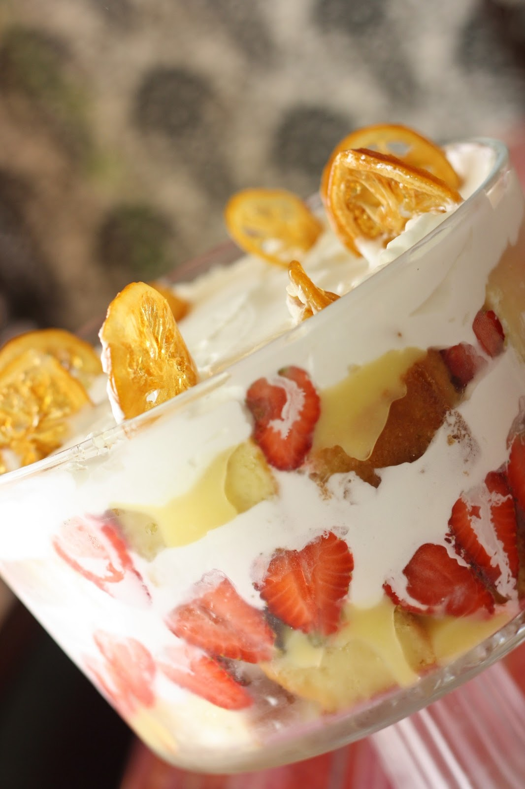 Zesty Lemon And Juicy Strawberry Trifle Perfect For Summer Bake
