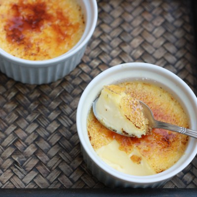 Restaurant style Creme Brulee
