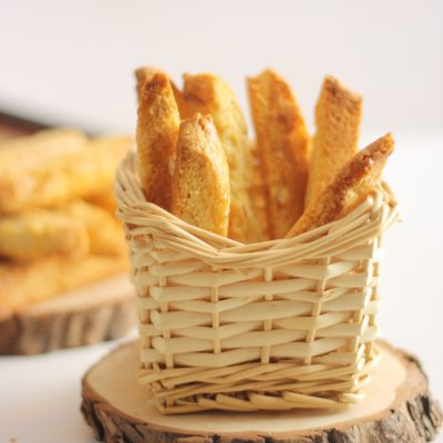 Biscotti – Almond biscottis perfect with cup of tea or coffee