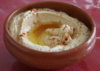 healthy, no-cook Middle Eastern dip hummus