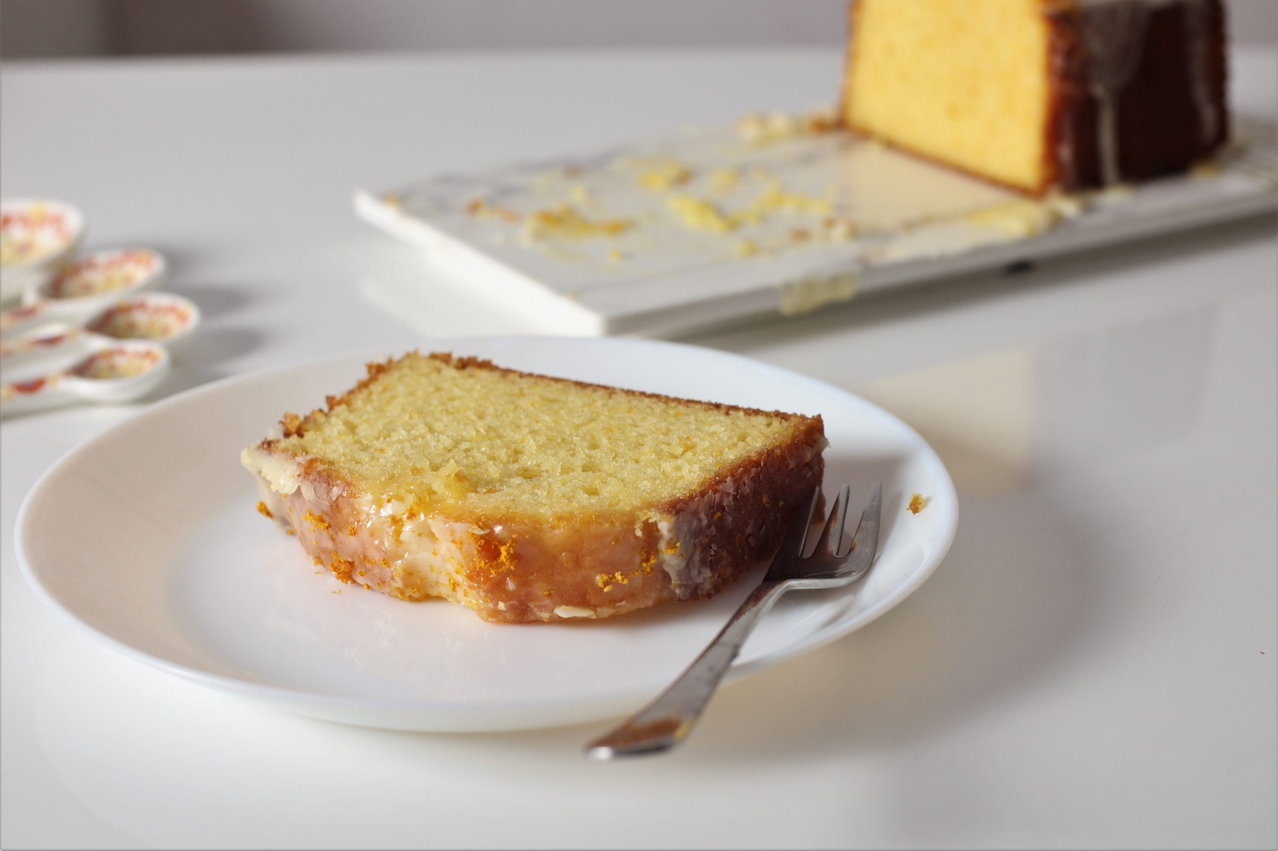 Orange Glaze Cake