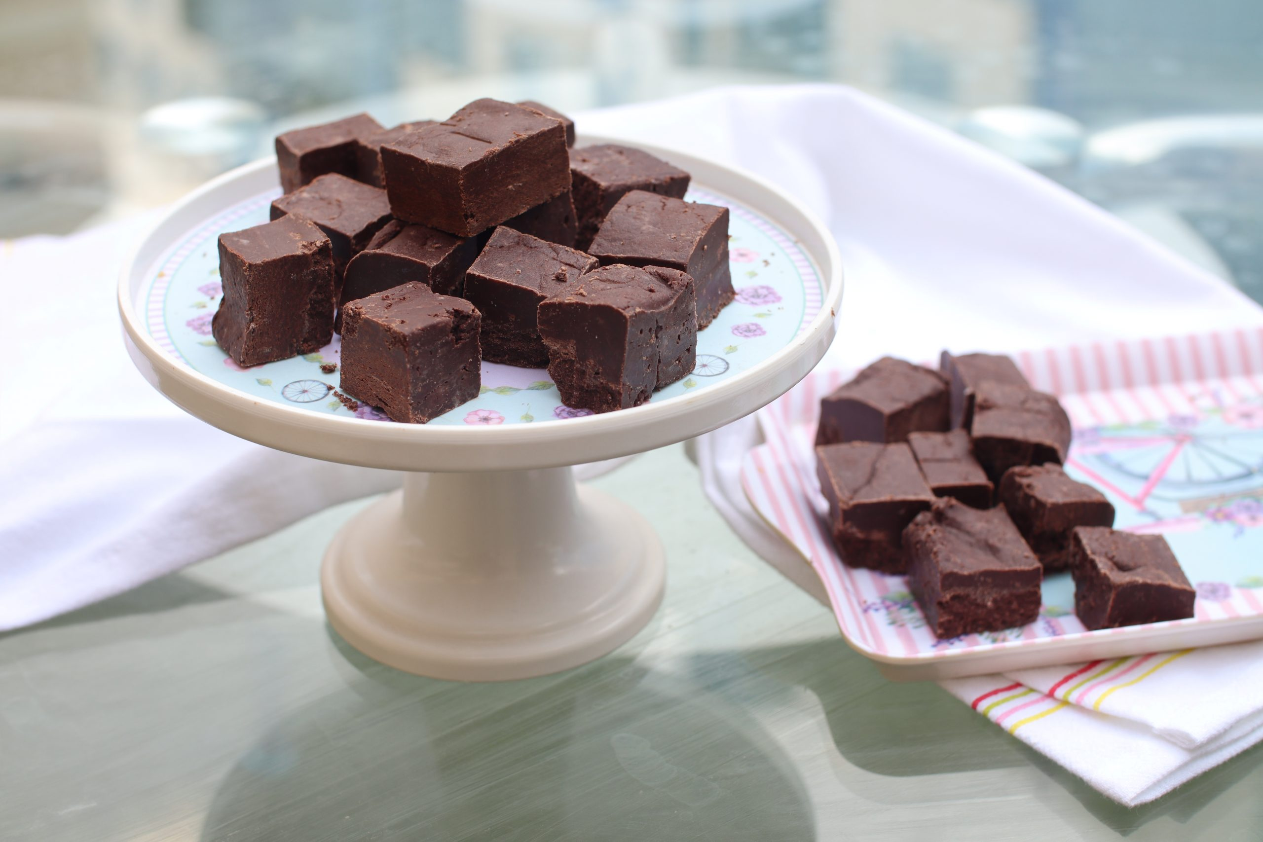 easy chocolate fudge recipe without condensed milk