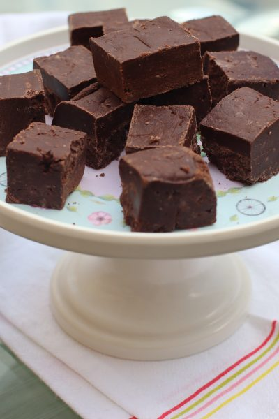 easy fudge without condensed milk
