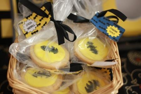 easy homemade batman cookies