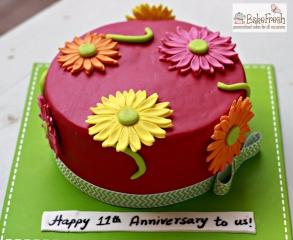 bakefresh 11th anniversary cake