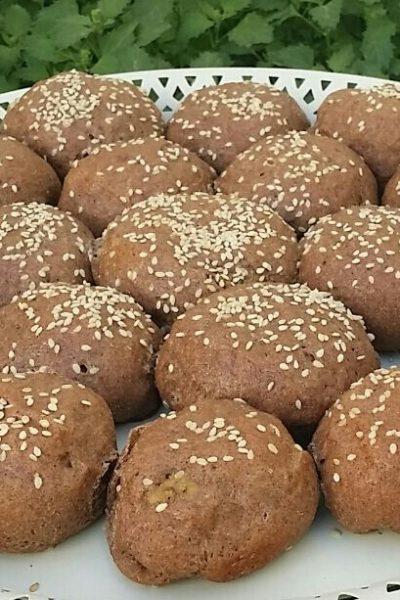 easy homemade stuffed finger millet bread