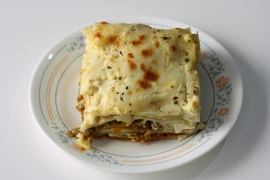 Beef Lasagna Pakistani style