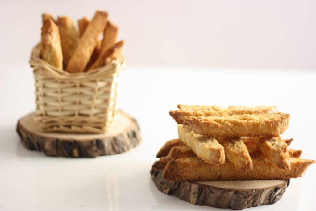 go-to almond biscottis recipe