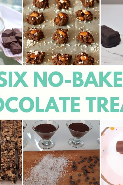 no bake chocolate treats