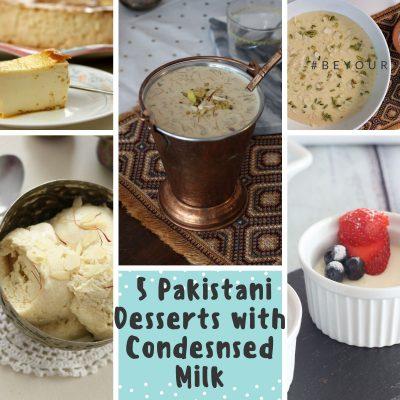 5 Easy-to-make Pakistani Desserts Using Condensed Milk