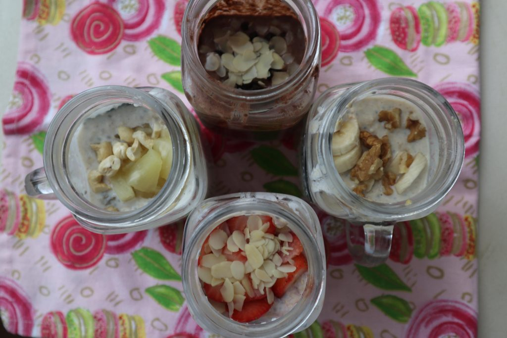 Ramadan special overnight oats