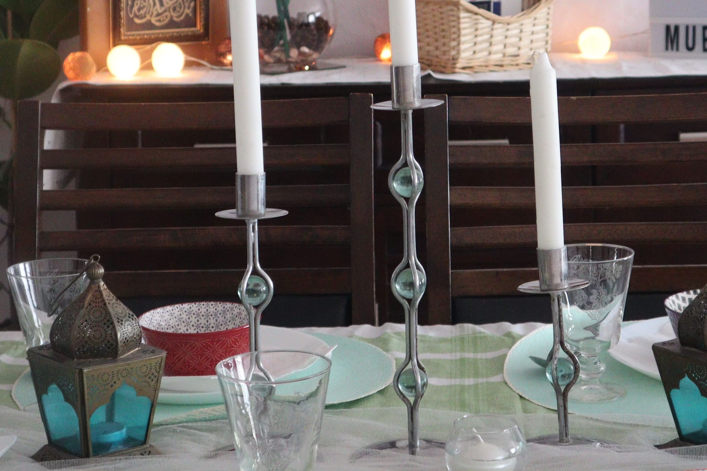 Ramadan Table setting on budget